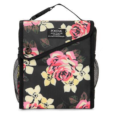 LOKASS Clear Tote Bag Adjustable Shoulder Stadium and Zipper Backpack School Bag