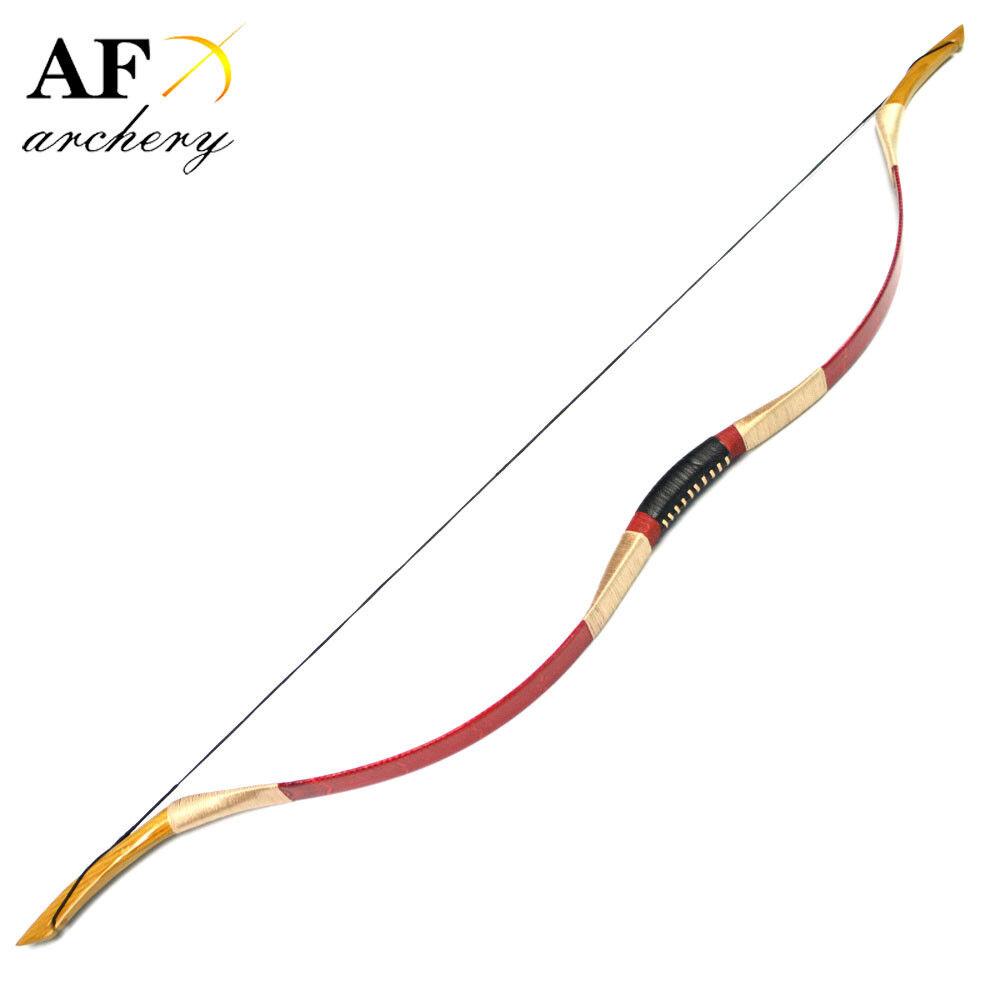 Af Archery 20-100 hanbow Rojo Tiro con Arco Tiro Caza Con Arco Recurvo Arco Arco Largo