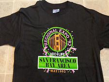 True Vtg 1992 NEOLIFE Regional Expo T-SHIRT Mens MED San Francisco Nutrition 90s