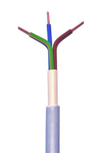 25m NYM-J 3x4 mm² Mantelleitung grau Installationsleitung Feuchtraumleitung
