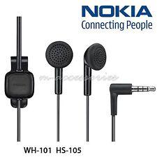 GENUINE WH-101 NOKIA 6300,6300i,E51,3109,3120,E71 EARPHONES HEADPHONES HANDSFREE