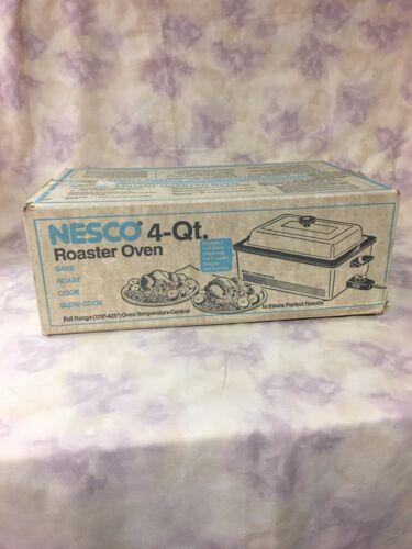 Nesco 4 Quart Roaster Oven White 4104-04