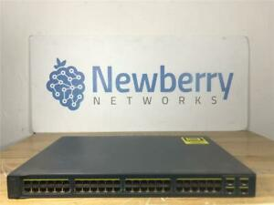 Cisco-Catalyst-3560-Series-Switch-10-100-48-Port-WS-C3560V2-48PS-S-1-year-Wrnty