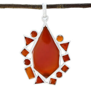 Complete-Pendant-Red-Onyx-Pendant-Independence-Day-Jewelry-Domestic-Pendant-UK