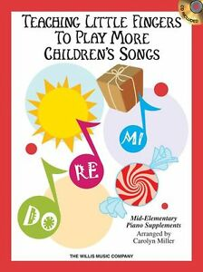 Details about Teaching Little Fingers To Play Childrens Songs Learn Kids  Piano Music Book