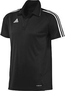 adidas-Maenner-Clima-Polo-schwarz-Polo-Shirt-Gr-XS-S-M-L-XL-XXL
