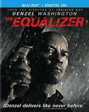 The Equalizer (Blu-ray Disc, 2014) does not Include Ultraviolet *USED LIKE NEW*