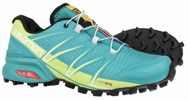 03fd4ab9bcaa Salomon Women s Running Shoe Trail Speedcross per Green   376082 37 1 3 for  sale online