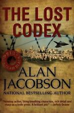 """Alan Jacobson """"The Lost Codex"""" 3 Brand New, (2015, Paperback) priced @ $17.99"""