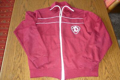 Bellissimo Originale Vecchia Dinamo Giacca Ddr Bambini-giacca Sportiva Vintage 70er Anni Calcio!-mostra Il Titolo Originale In Vendita