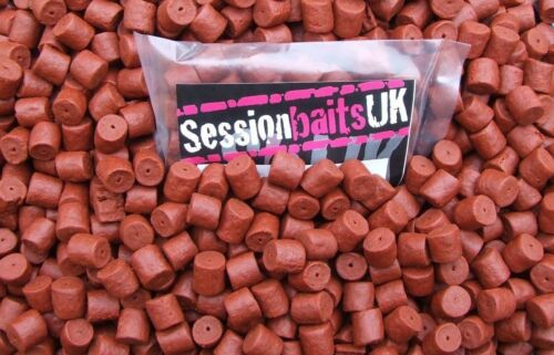 PRE-DRILLED HALIBUT PELLETS HIGHLY FLAVOURED 14MM RED 80G