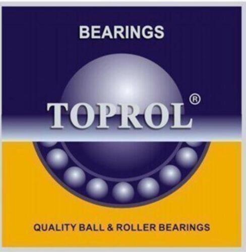 TOPROL 6008-2RS C3 Premium Sealed Ball Bearing 40x68x15mm SAME DAY SHIPPING!!