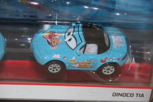"""DISNEY PIXAR CARS 3 /""""2 PACK DINOCO MIA /& DINOCO TIA/"""" NEW IN PACKAGE SHIP WW"""