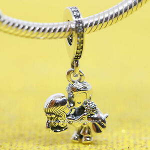 Married Couple Authentic Pandora Sterling Silver Charm 798896C01 ...