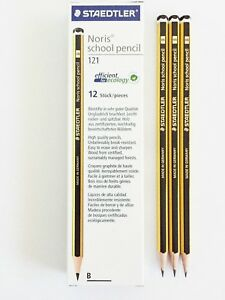 10 x 6B STAEDTLER TRADITION PENCILS BOXED SCHOOL STUDENT DRAWING DESIGN ART Stationery & School Equipment pen pencil