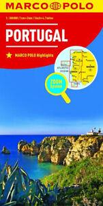 Cartina Stradale Portogallo.Portogallo Cartina Stradale Scala 1 300 000 Mappa Carta Poster Marco Polo Ebay