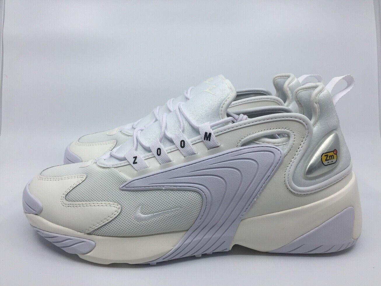 Nike Zoom 2K AO0269 100 Gr. 45,5 UK 10,5 sail Weiß schwarz Turnschuhe