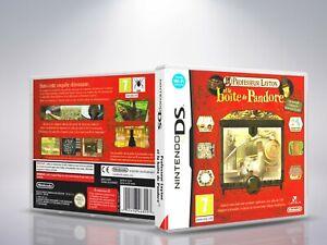 Professeur-Layton-et-la-Boite-de-Pandore-DS-Cover-Case-NO-Game-PAL-FR