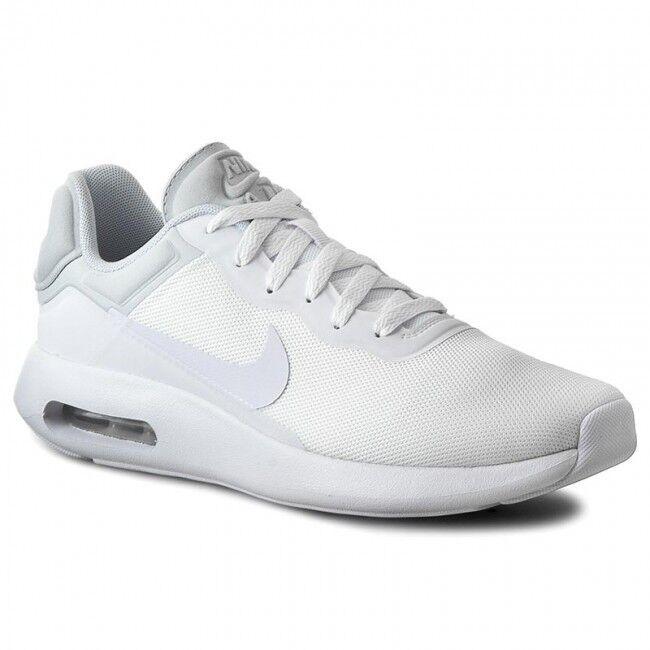 Nike Air Max Modern Essential weiss Herren Schuhe Turnschuhe Sneaker weiss Essential 844874 100 1e78a7