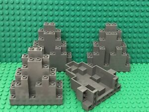 LURP Old Gray NEW Lego Light Gray Rock Panel 3 x 8 x 7 Triangular