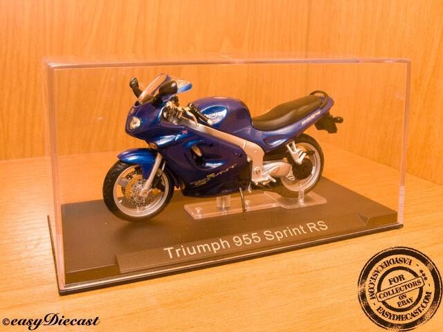 TRIUMPH 955 SPRINT RS 2004 blueE 1 24 MINT&RARE