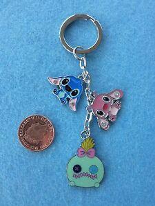 Lilo-and-Stitch-Keyring-Keychain-Enamel-Bag-Charm-Birthday-Gift-Present-34