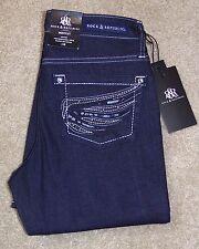 New Rock & Republic 4M Jeans Bootcut Kasandra Low Rise Dark Stretch $88