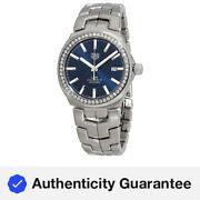 Tag Heuer Link Caliber 5 Automatic Diamond Men's Watch WBC2113.BA0603