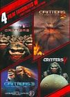 4 Film Favorites Critters 1-4 0794043141591 With Terrence Mann DVD Region 1