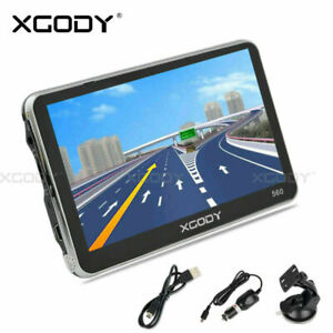 xgody 560 5 auto gps navigationsger t de eu karte lkw pkw navigationsger te 8gb ebay. Black Bedroom Furniture Sets. Home Design Ideas