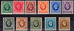 GB-1934-GV-Definitives-Stamps-Set-Photogravure-11-Mounted-Mint-UK-Seller