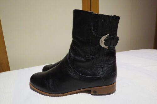 Boots Eur Black 7 Ugg® Up Australia £ 5 Uk 199 Finnegan Leather 38 Zip Rrp 5 Usa Yv1qA