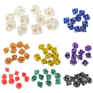 10pcs-10-Sided-Dice-D10-Role-Playing-Game-Dungeons-amp-Dragons-D-amp-D-TRPG-Game-Dice