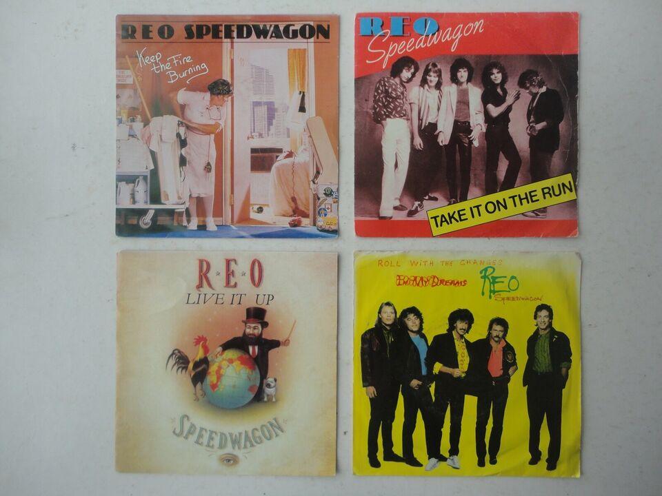 Single, REO SPEEDWAGON, Rock
