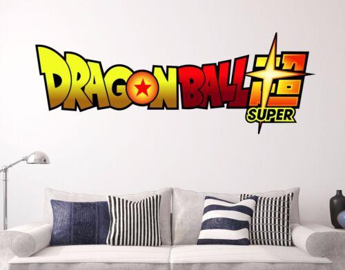 Dragon Ball Z Wall Decal fenêtre animation Autocollant Decor VINYL STICKERS LETTRES