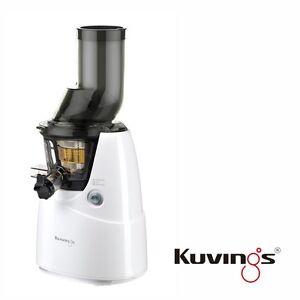 Kuvings-Whole-Lente-B6000W-Couleur-Blanc-Incl-Livre-de-Recettes-avec-60-U-Min
