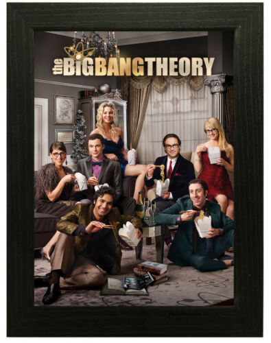 A3 A4 Sizes The Big Bang Theory TV Show Poster or Canvas Art Print