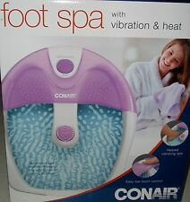 Conair Foot Spa vibrator spa feet soaker mens womens massaging Xmas gift new