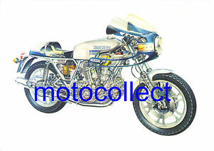 DUCATI-900SS-Bevel-Drive-Cutaway-Drawing-A3-print-Free-Postage-Worldwide