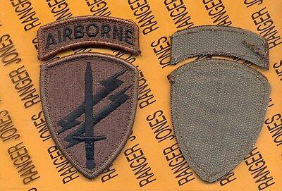 CAPOC Civil Affairs /& Psychological Oerations Cmd Airborne Desert DCU patch m//e