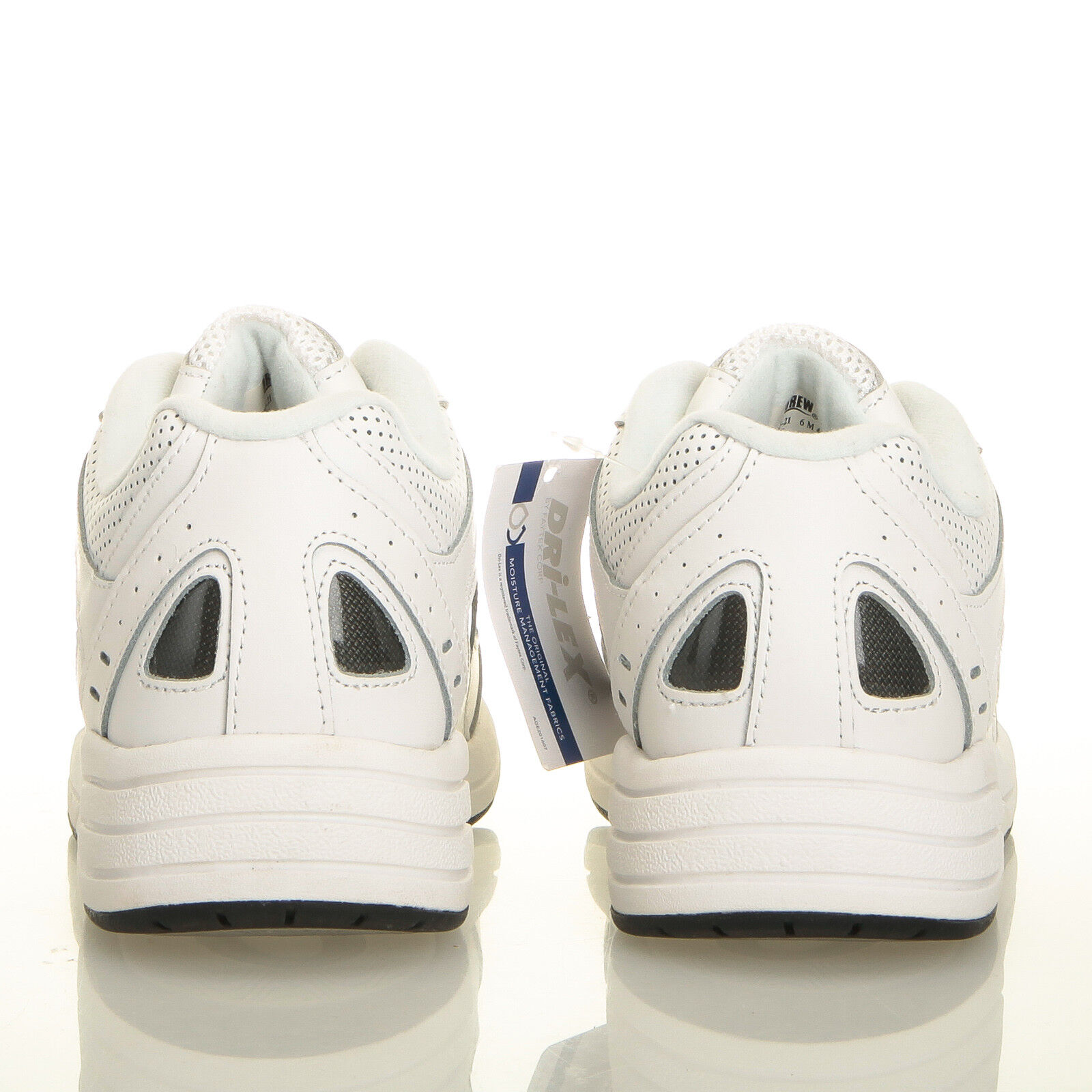 Drew Flare blanc Leather Perforated Leather blanc & Mesh Walking Chaussures - femmes 6 M 89daaf