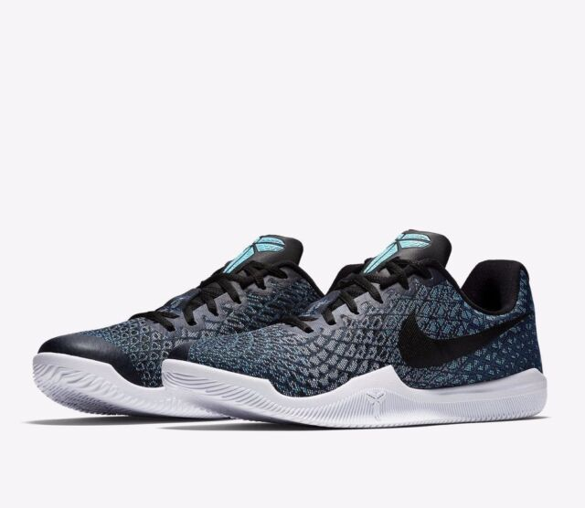 f1aa849f0cb Nike Kobe Mamba Instinct Mens Basketball Shoes 9 Chlorine Blue Black 852473  401