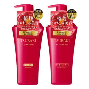 SHISEIDO-TSUBAKI-Extra-Moist-Hair-Shampoo-amp-Conditioner-Set