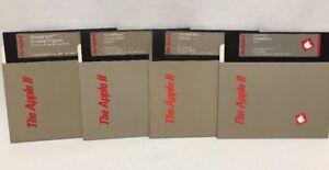 Vintage-Apple-lle-IIc-Software-Floppy-Disks-AppleWorks-1983-Startup-Sample-Files