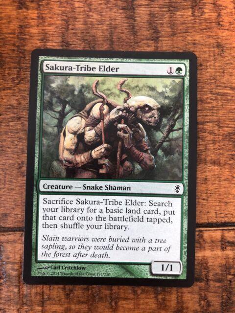 Sakura-Tribe Elder X4 Conspiracy *NM//EX* Magic the Gathering MTG G