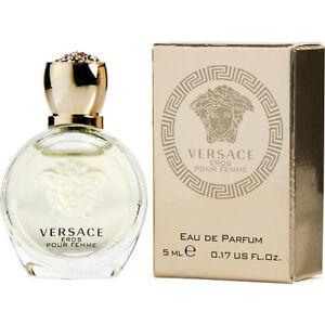 Versace Eros Pour Femme For Women 5ml Edp Splash Miniature Gre8 4 Trying