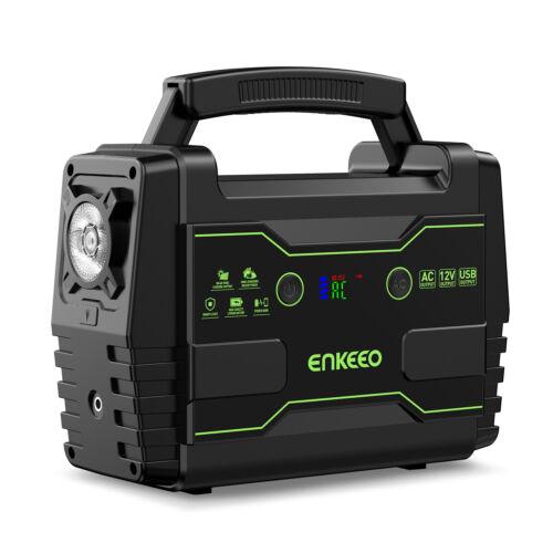 ENKEEO Power Station 150Wh Solar Generator 220V C//DC//QC3.0 USB Power Supply