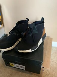 new style 5cf28 5df00 Image is loading Adidas-NMD-C1-Trail-Chukka-Black-S81834-Men-