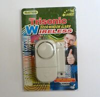 Wireless Door Window Alarm Home Security Loud Easy To Install Battery Powered