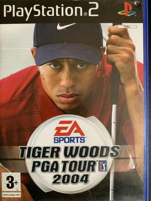 Tiger Woods PGA Tour 2004 (Sony PlayStation 2, 2003) - European Version